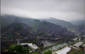 天河潭,青岩古镇图片